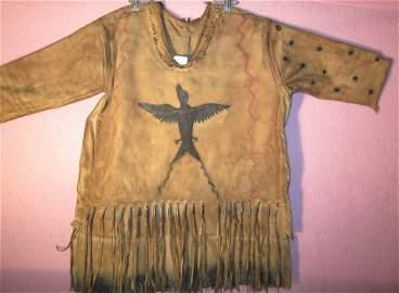 4: Heavy muslin 'ghost dance shirt'