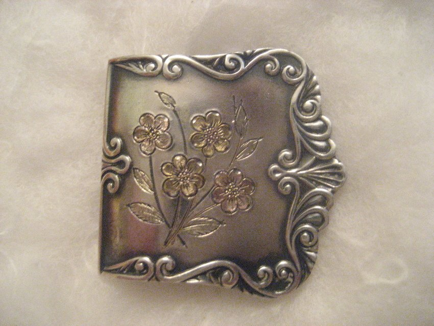 23: Woman's Sterling Silver Buckle