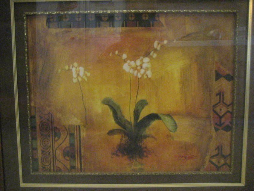 498: Large Oil Painting of Flower by Songge - 2