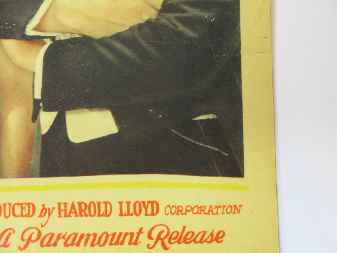 "SIX HAROLD LLOYD ""FEET FIRST"" LOBBY CARDS - 4"