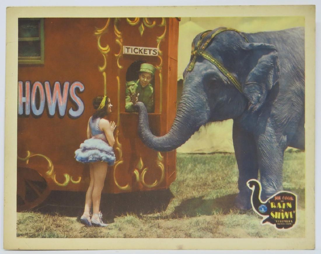SEVEN RAIN OR SHINE LOBBY CARDS - COLUMBIA 1930 - 3