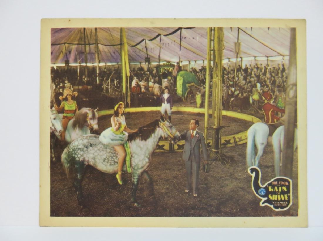 SEVEN RAIN OR SHINE LOBBY CARDS - COLUMBIA 1930 - 4