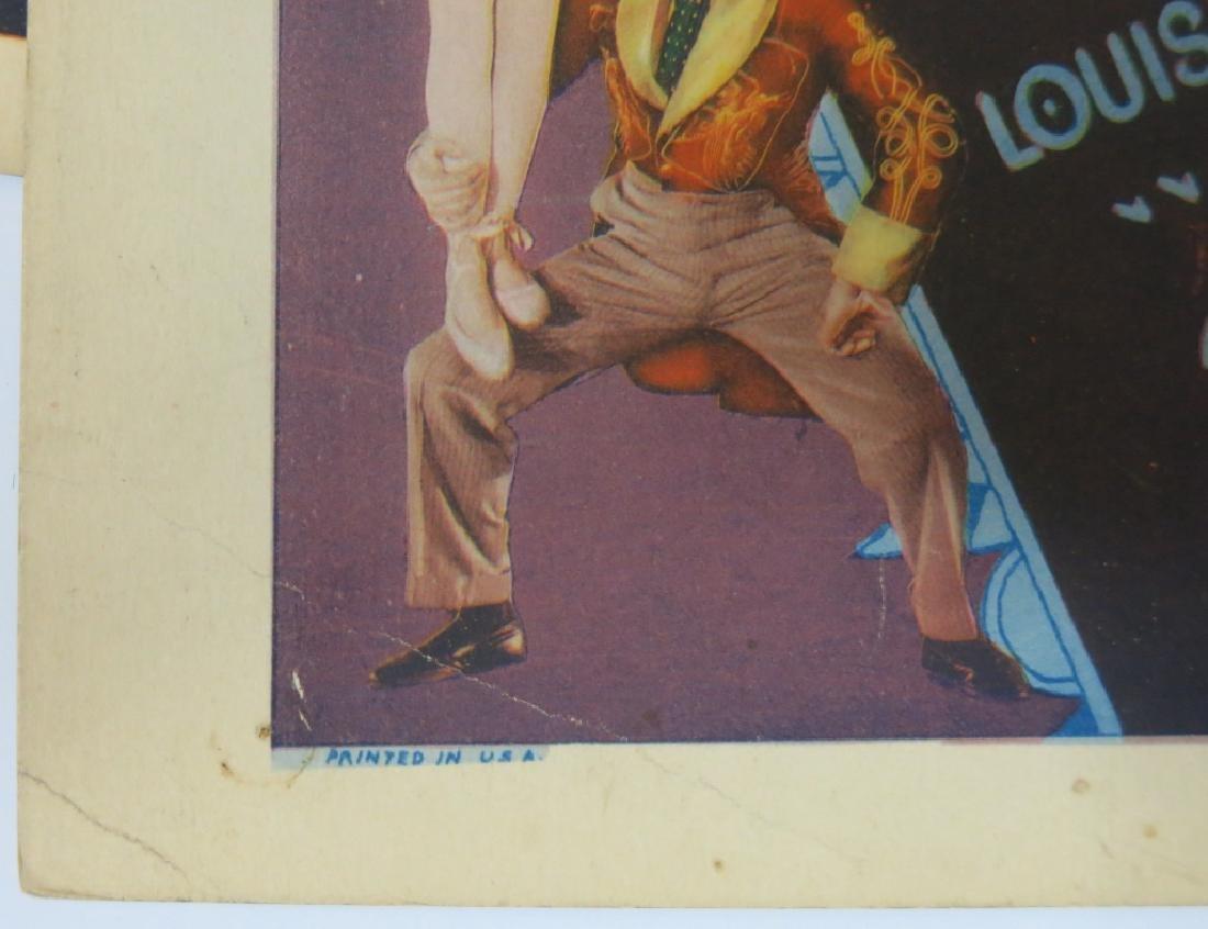 SEVEN RAIN OR SHINE LOBBY CARDS - COLUMBIA 1930 - 7