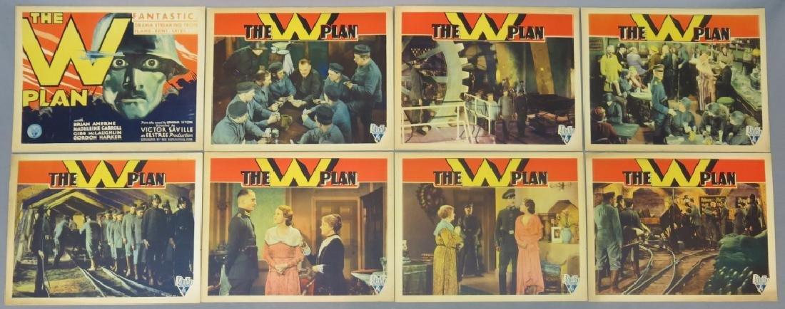 THE W PLAN LOBBY CARD SET RKO 1930