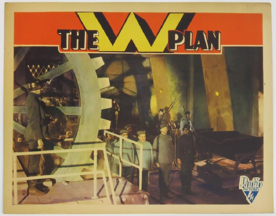 THE W PLAN LOBBY CARD SET RKO 1930 - 3