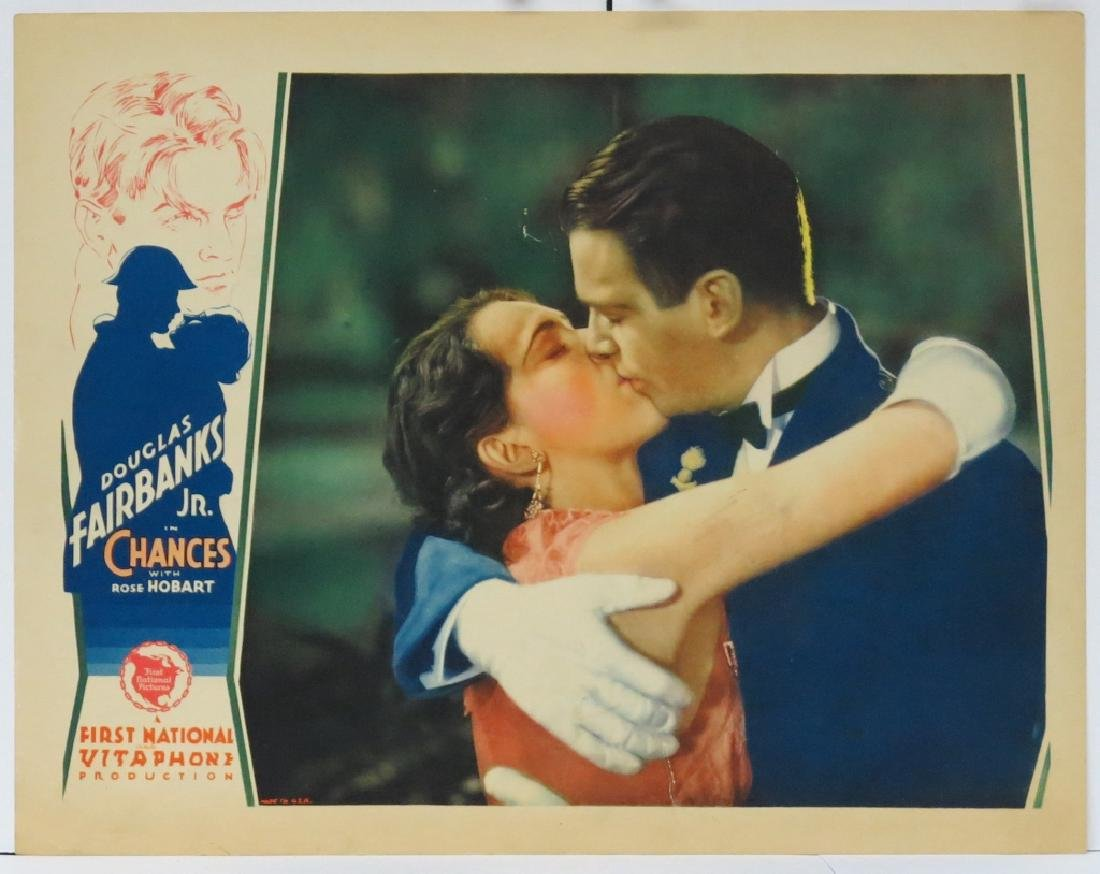 CHANCES MOVIE LOBBY CARDS (7) - DOUG. FAIRBANKS JR - 3