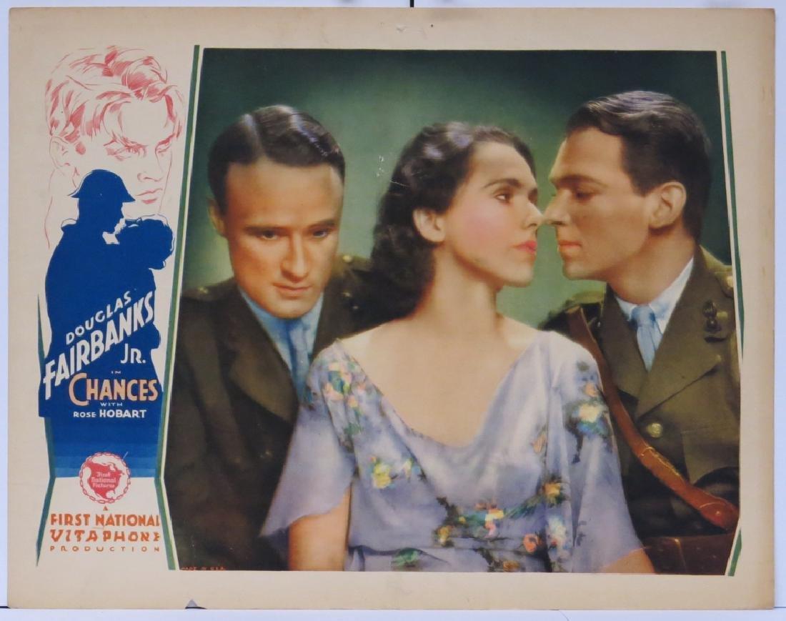 CHANCES MOVIE LOBBY CARDS (7) - DOUG. FAIRBANKS JR - 4
