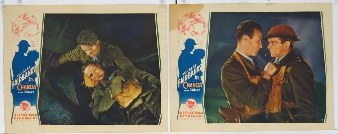 CHANCES MOVIE LOBBY CARDS (7) - DOUG. FAIRBANKS JR - 5
