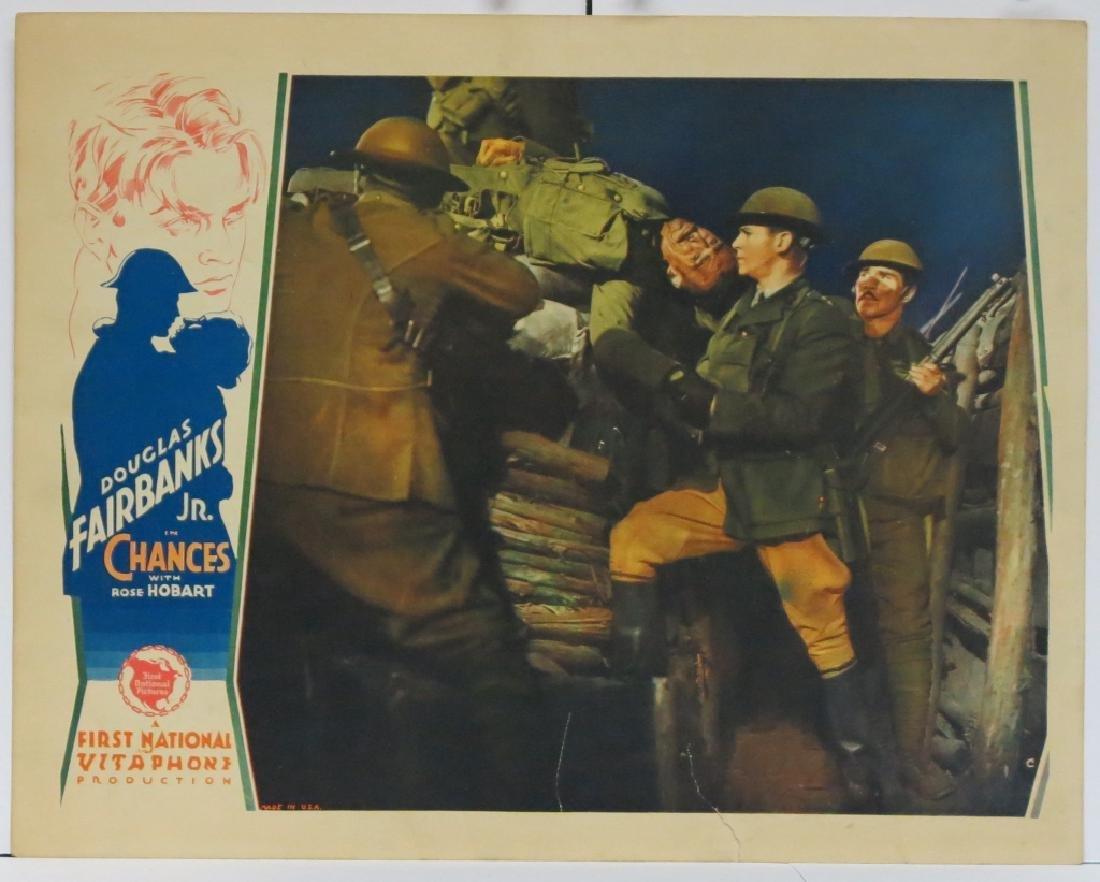 CHANCES MOVIE LOBBY CARDS (7) - DOUG. FAIRBANKS JR - 6