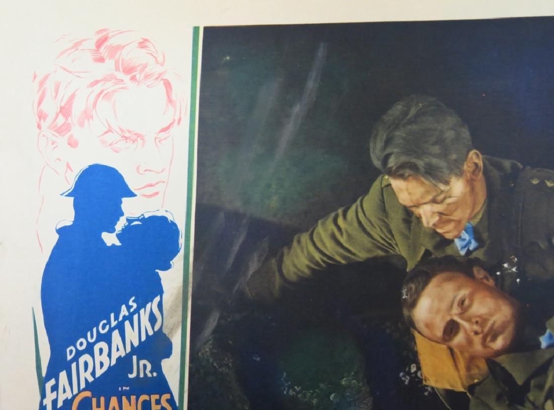 CHANCES MOVIE LOBBY CARDS (7) - DOUG. FAIRBANKS JR - 9