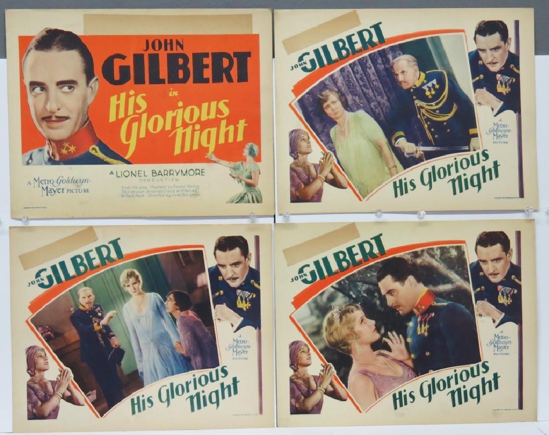 INTERESTING LOT OF JOHN GILBERT LOBBY CARDS