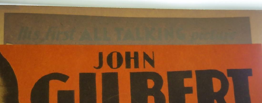 INTERESTING LOT OF JOHN GILBERT LOBBY CARDS - 4