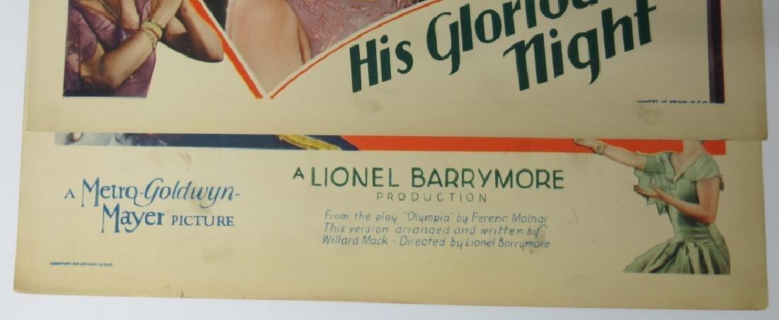 INTERESTING LOT OF JOHN GILBERT LOBBY CARDS - 6