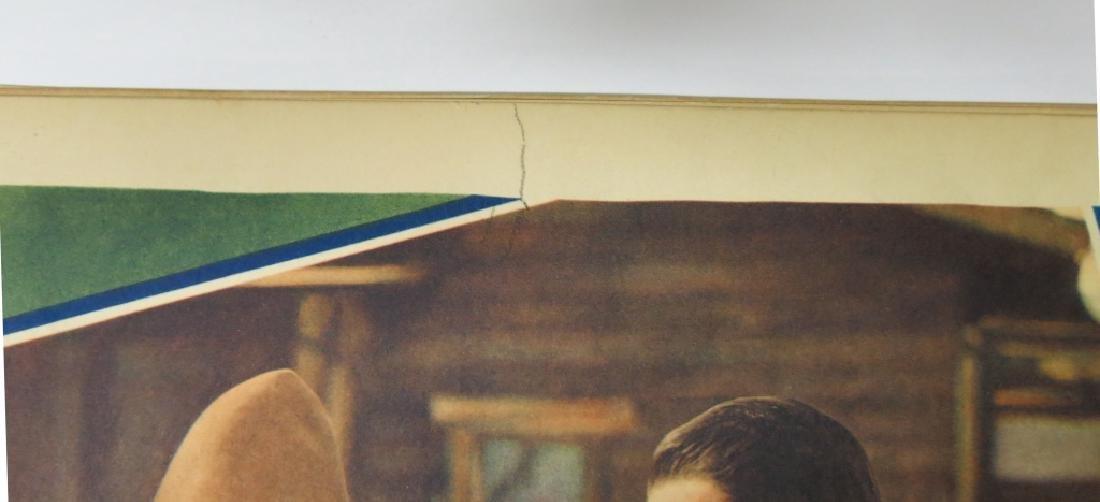 LOT OF 6 WESTERN MOVIE LOBBY CARDS - TOM TYLER - 2