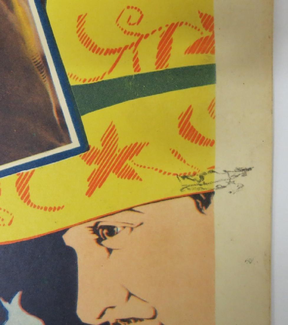 LOT OF 6 WESTERN MOVIE LOBBY CARDS - TOM TYLER - 3