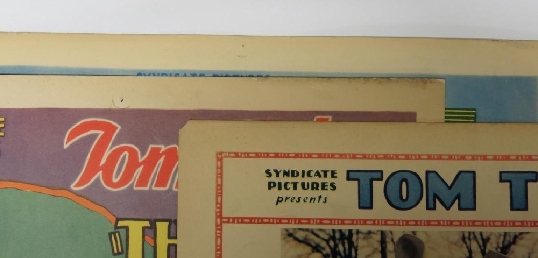 LOT OF 6 WESTERN MOVIE LOBBY CARDS - TOM TYLER - 4