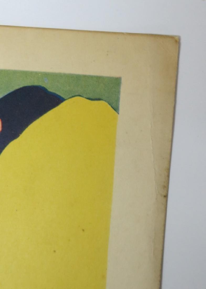 LOT OF 6 WESTERN MOVIE LOBBY CARDS - TOM TYLER - 5
