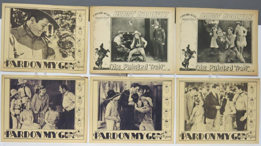 LOT OF 12 WESTERN MOVIE LOBBY CARDS - 2