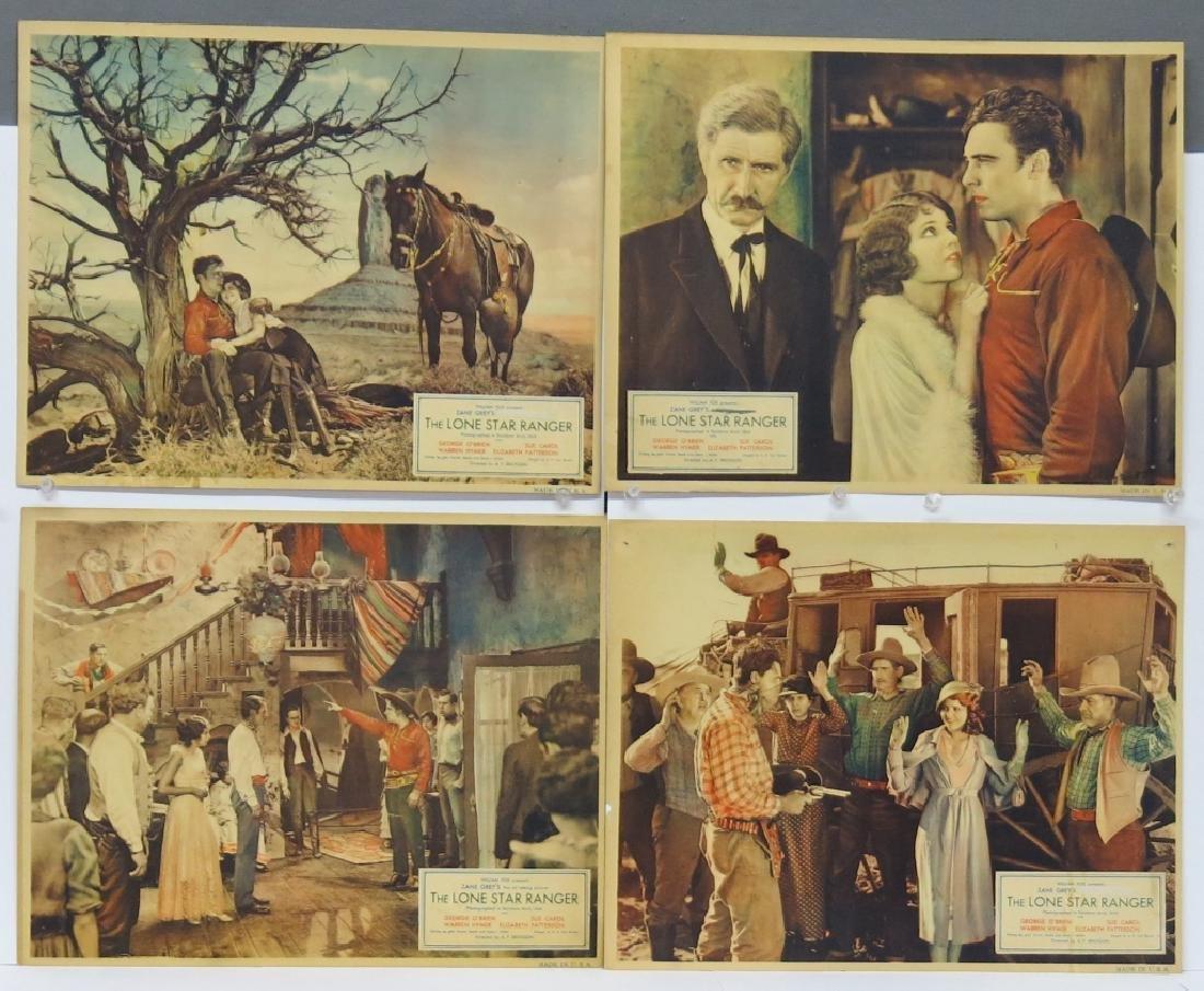 LOT OF 9 WESTERN MOVIE LOBBY CARDS - 2