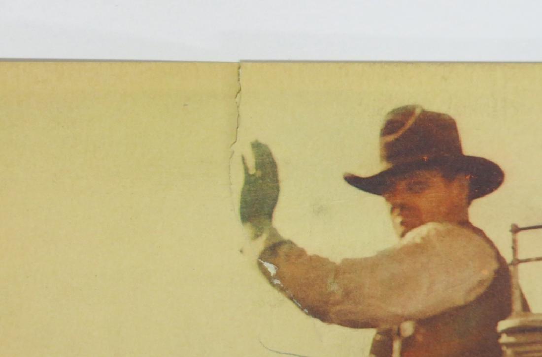 LOT OF 9 WESTERN MOVIE LOBBY CARDS - 5