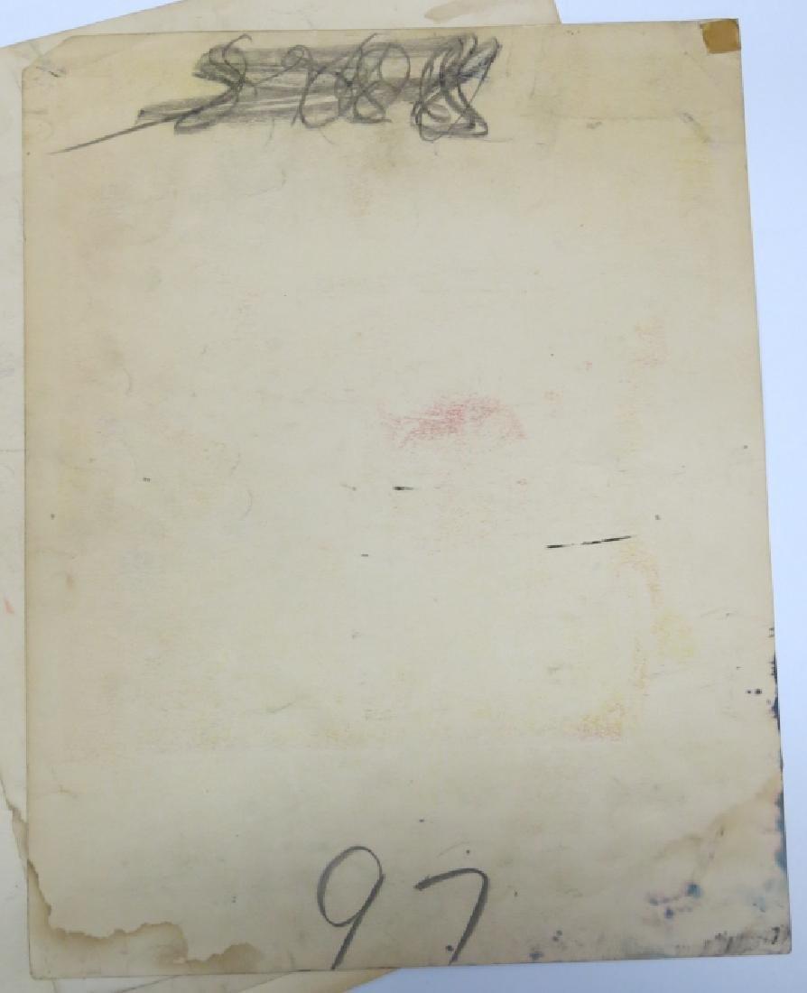 LOT OF 12 WESTERN MOVIE LOBBY CARDS - BOB STEELE - 5