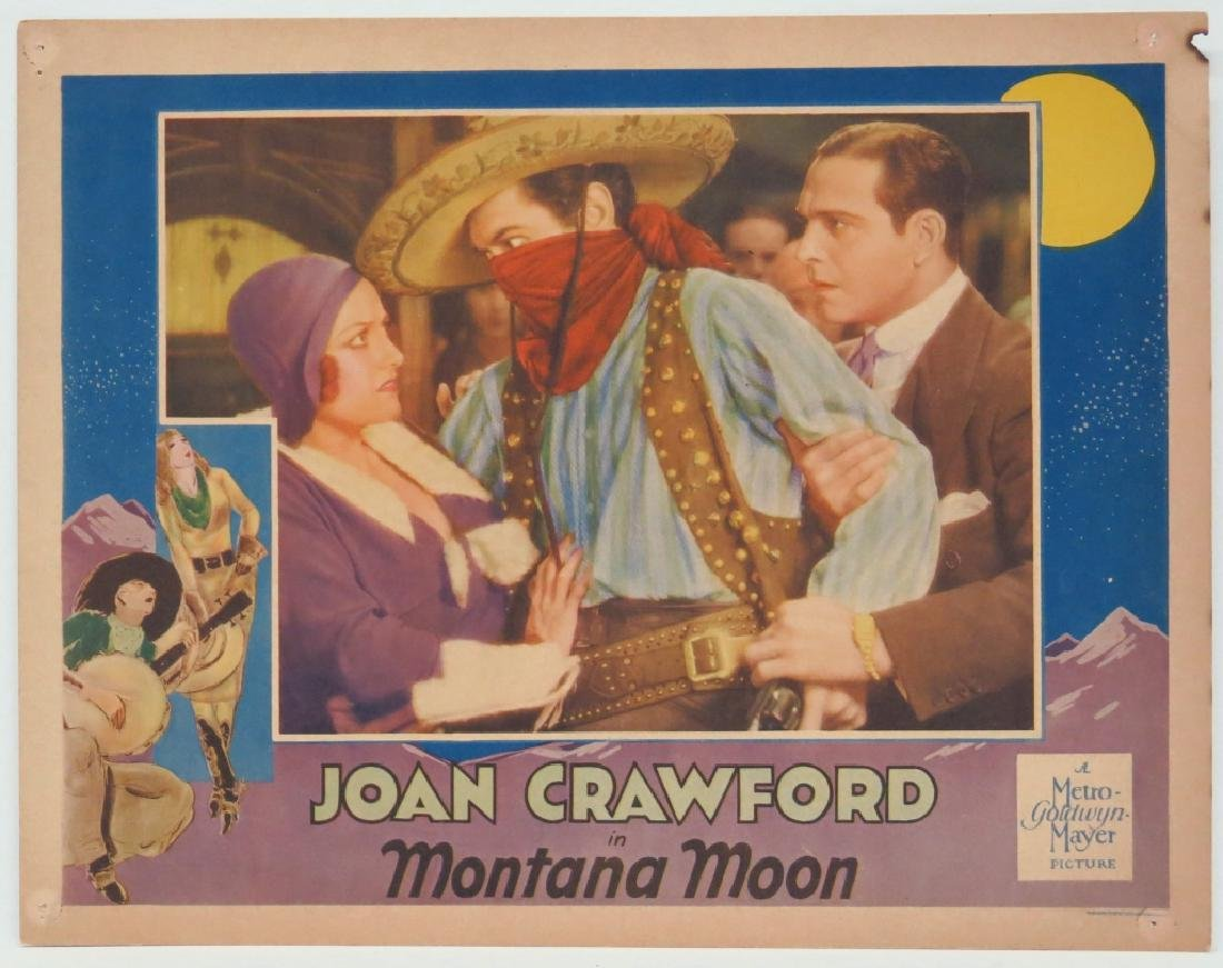 "JOAN CRAWFORD ""MONTANA MOON"" LOBBY CARD"