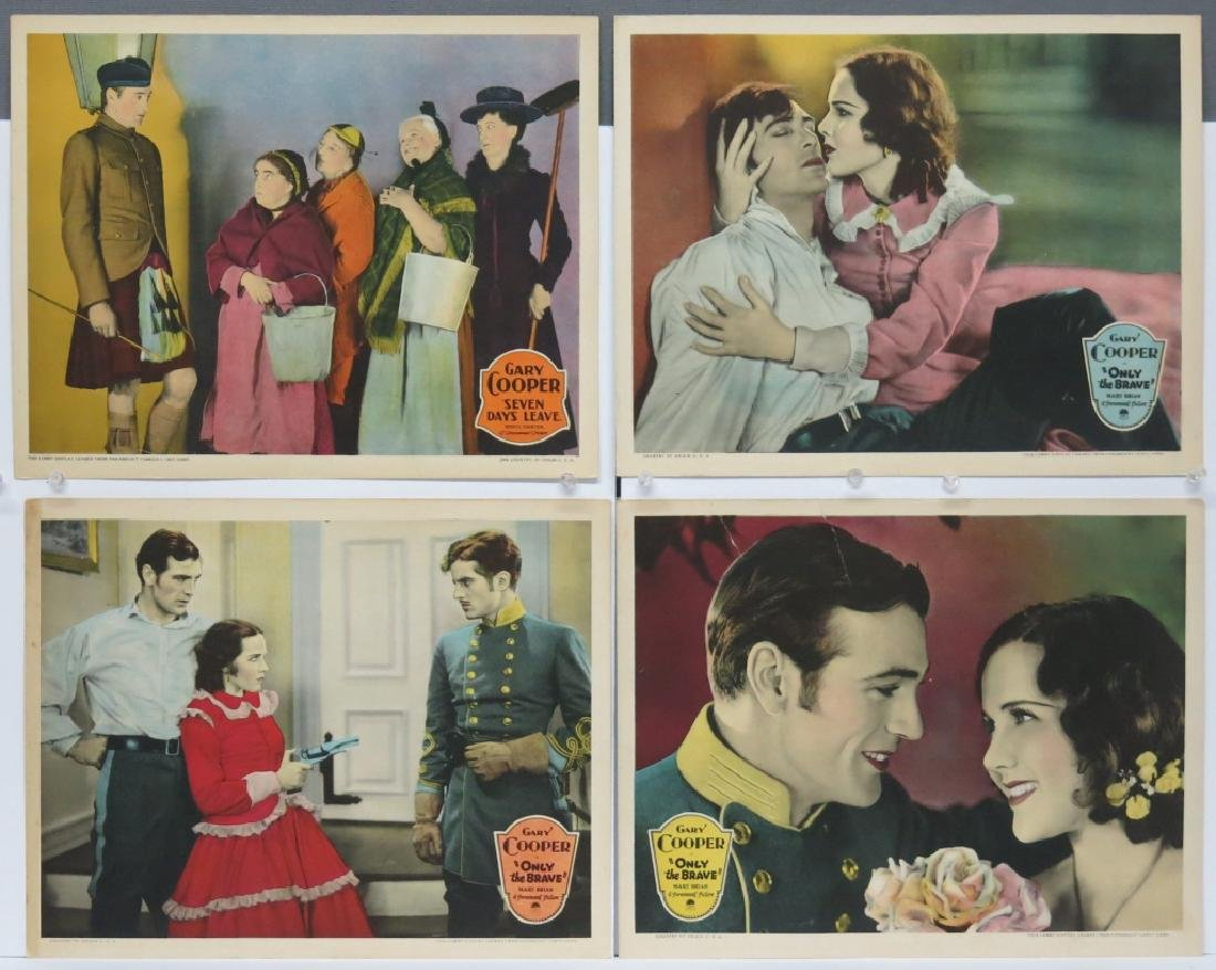LOT OF FOUR GARY COOPER LOBBY CARDS