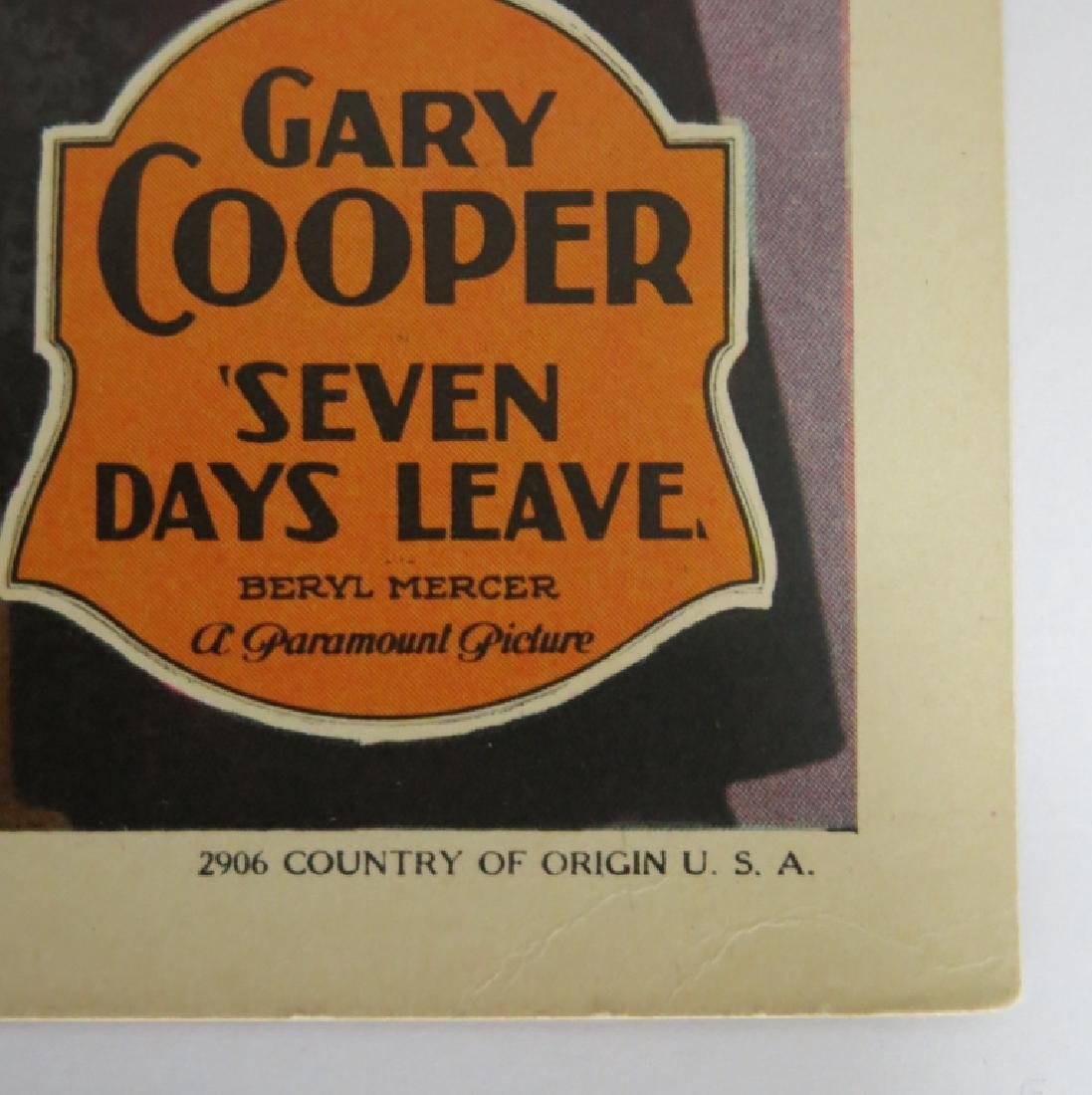 LOT OF FOUR GARY COOPER LOBBY CARDS - 4