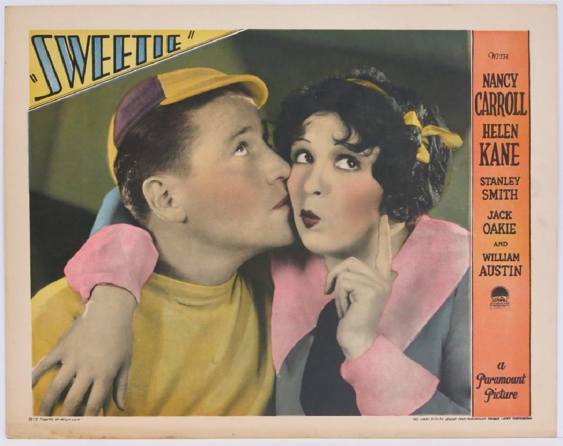 FIVE SWEETIE LOBBY CARDS - PARAMOUNT 1929 - 2