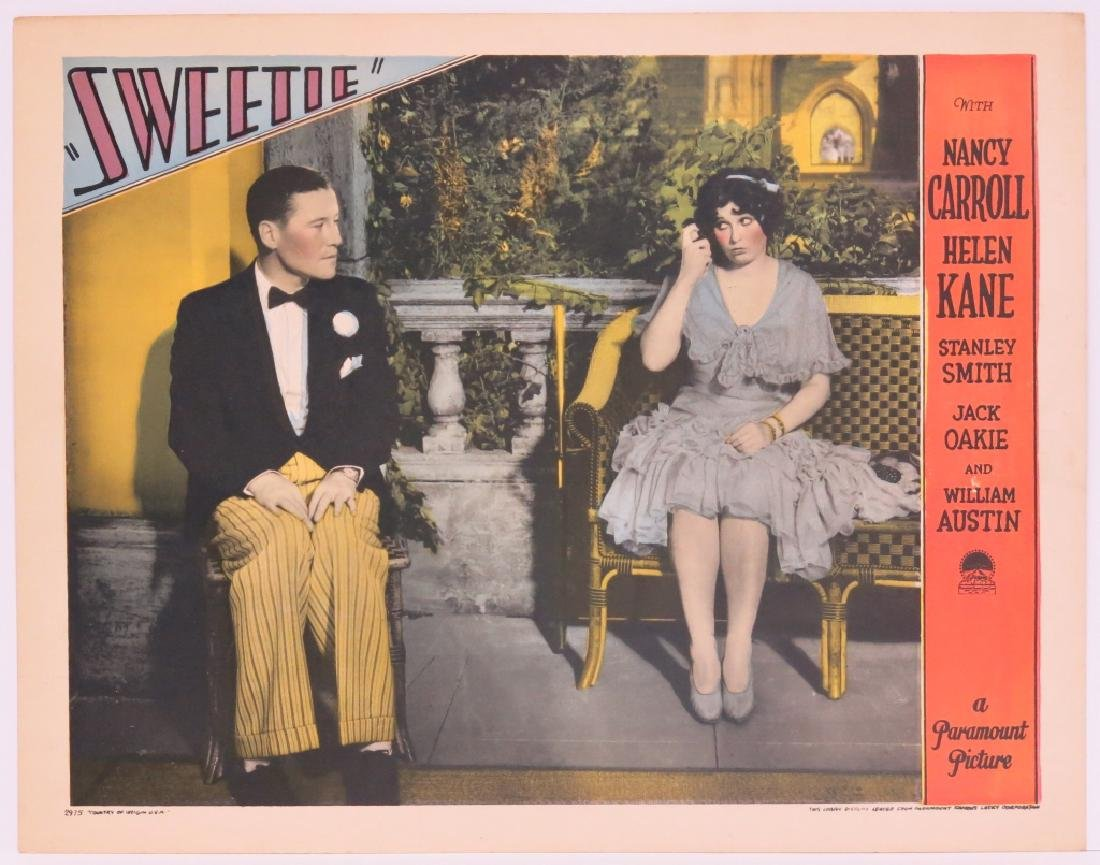 FIVE SWEETIE LOBBY CARDS - PARAMOUNT 1929 - 3