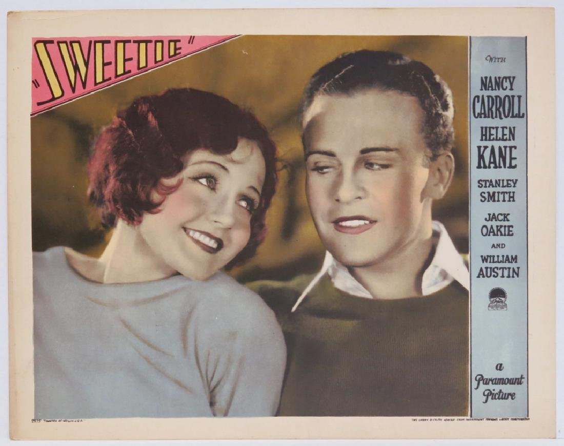 FIVE SWEETIE LOBBY CARDS - PARAMOUNT 1929 - 4