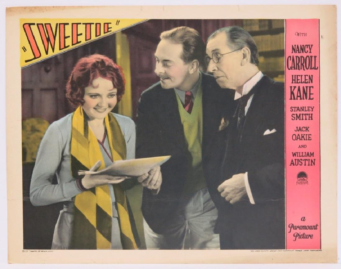 FIVE SWEETIE LOBBY CARDS - PARAMOUNT 1929 - 5