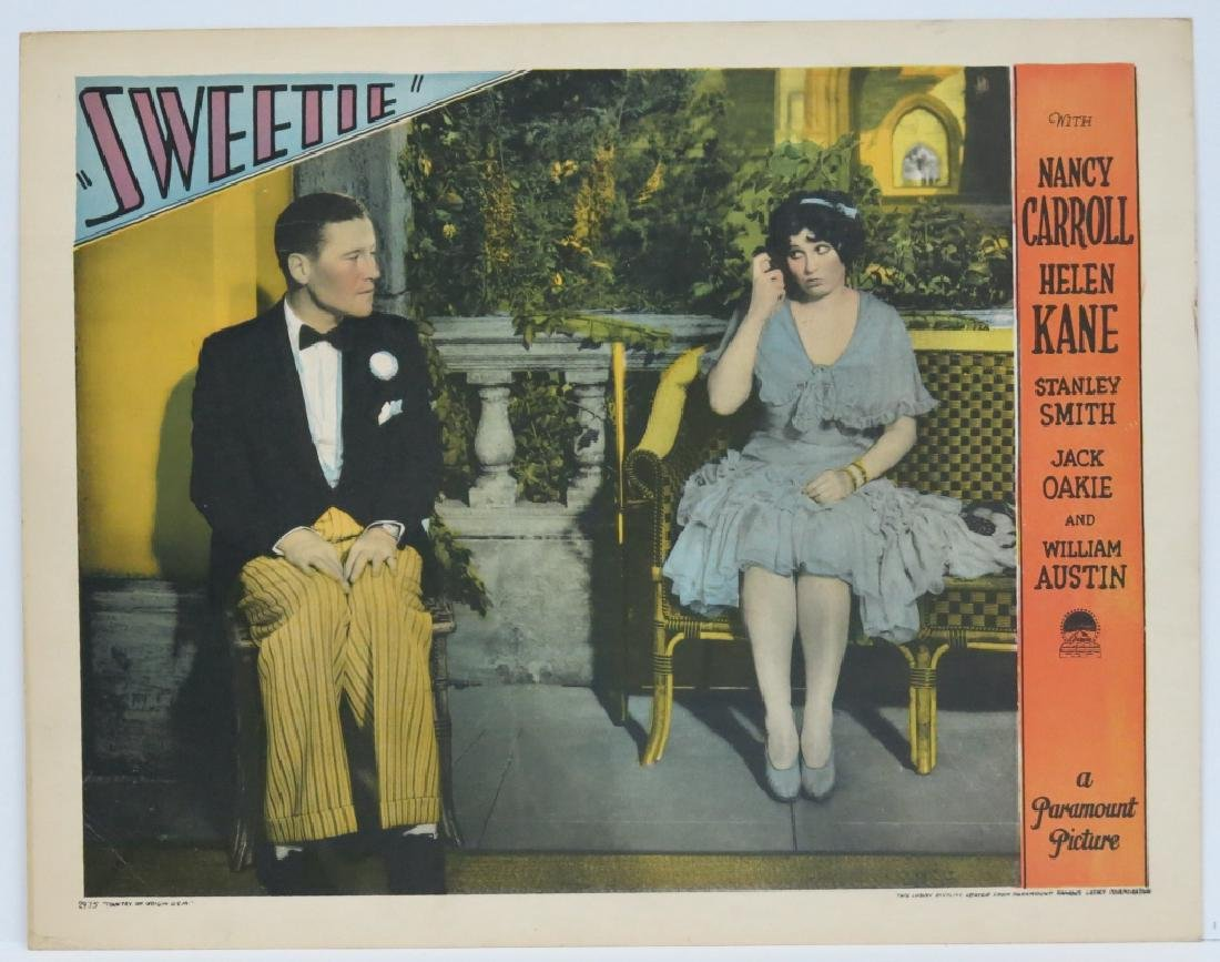 FIVE SWEETIE LOBBY CARDS - PARAMOUNT 1929 - 6