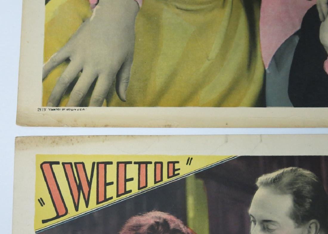 FIVE SWEETIE LOBBY CARDS - PARAMOUNT 1929 - 7