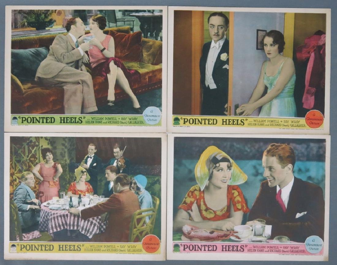 FIVE POINTED HEELS LOBBY CARDS - PARAMOUNT 1929