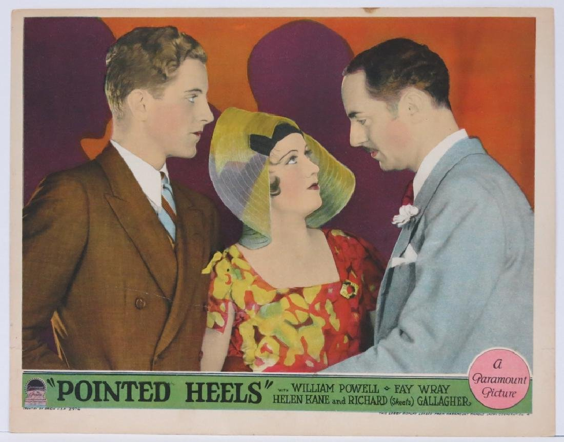 FIVE POINTED HEELS LOBBY CARDS - PARAMOUNT 1929 - 2