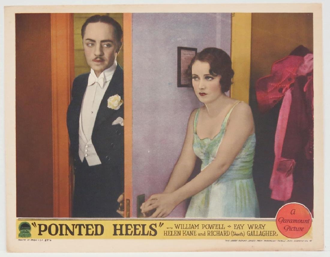 FIVE POINTED HEELS LOBBY CARDS - PARAMOUNT 1929 - 3