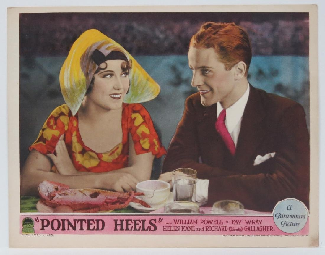 FIVE POINTED HEELS LOBBY CARDS - PARAMOUNT 1929 - 4