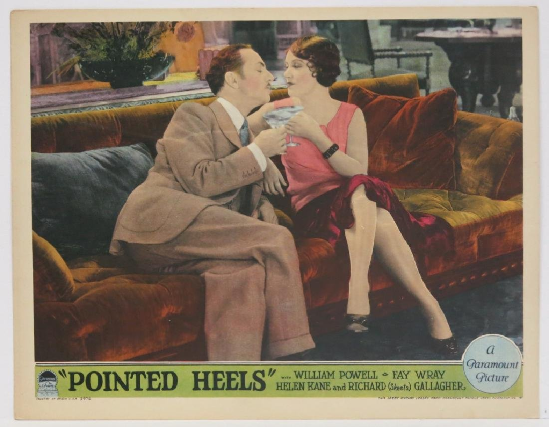 FIVE POINTED HEELS LOBBY CARDS - PARAMOUNT 1929 - 5