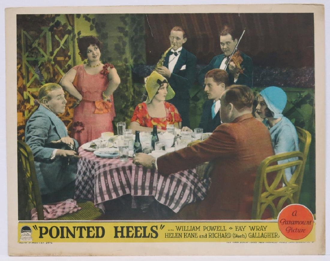 FIVE POINTED HEELS LOBBY CARDS - PARAMOUNT 1929 - 6
