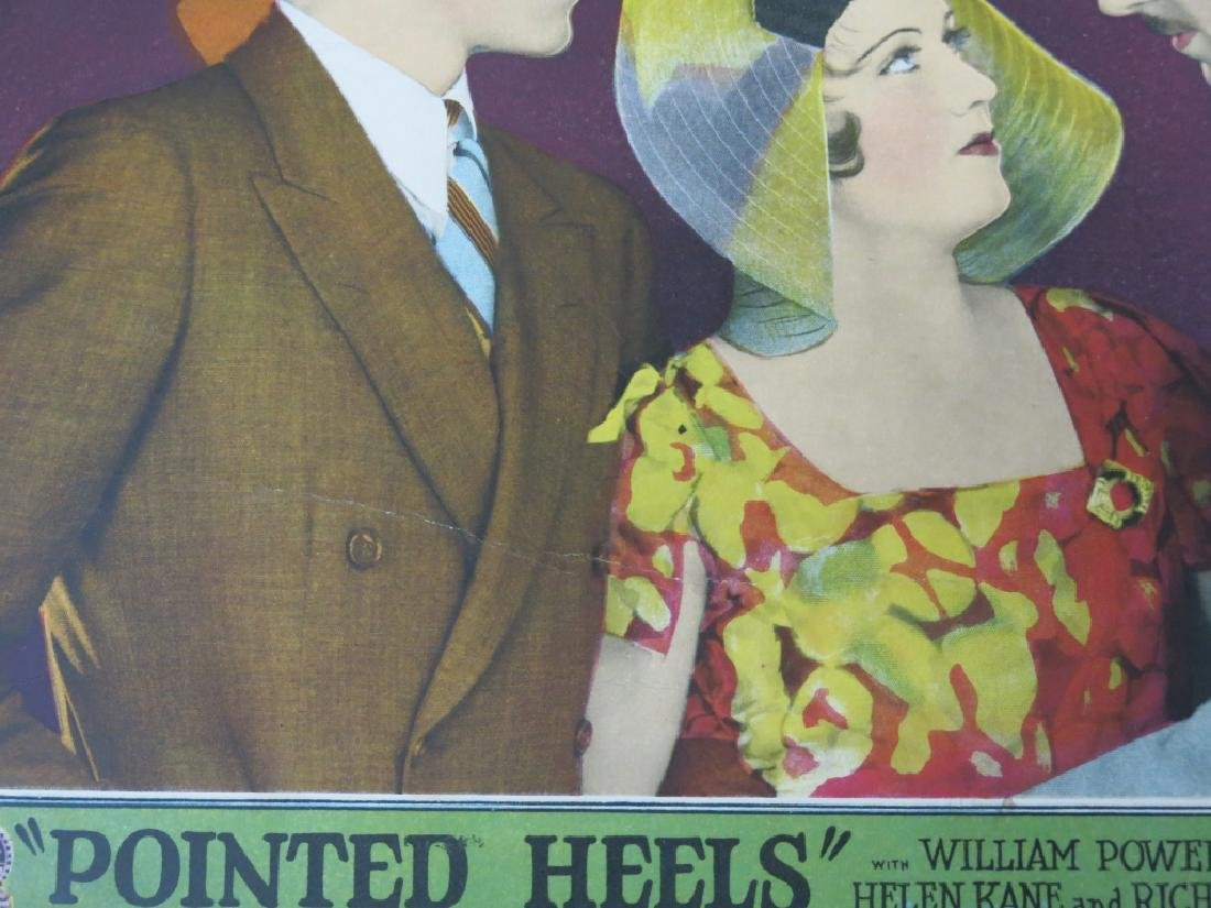 FIVE POINTED HEELS LOBBY CARDS - PARAMOUNT 1929 - 7