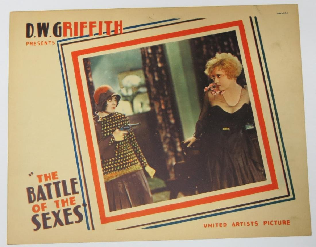LOT OF 5 PRECODE MOVIE LOBBY CARDS - D.W. GRIFFITH - 2