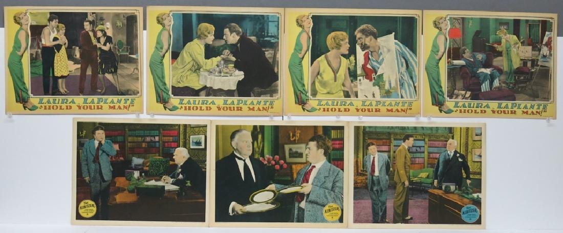 LOT OF 7 PRECODE MOVIE LOBBY CARDS