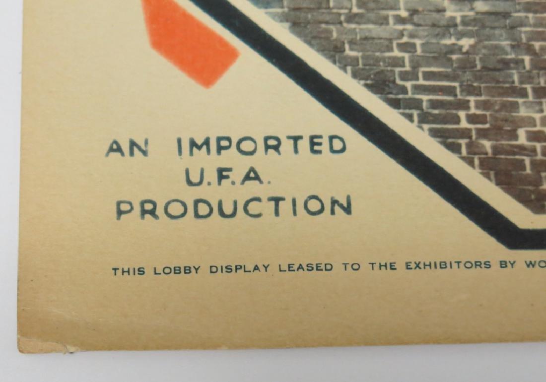 LOT OF 9 PRECODE MOVIE LOBBY CARDS - 4
