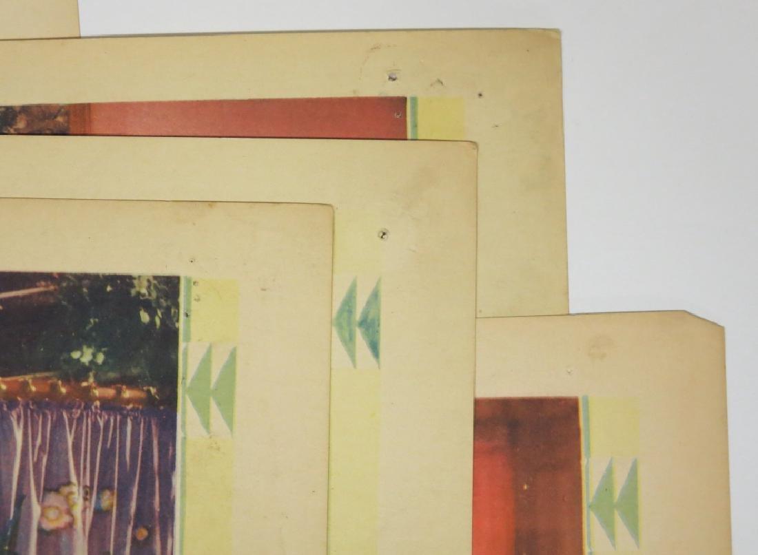 LOT OF 9 PRECODE MOVIE LOBBY CARDS - 5