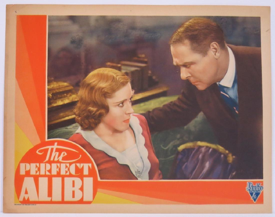 THE PERFECT ALIBI LOBBY CARD SET 1930 - 3