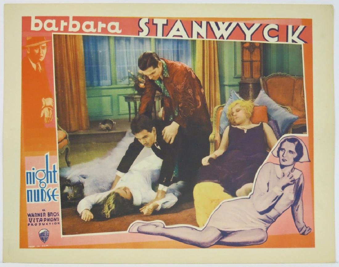 THE NIGHT NURSE LOBBY CARD SET WARNER BROS 1931 - 3