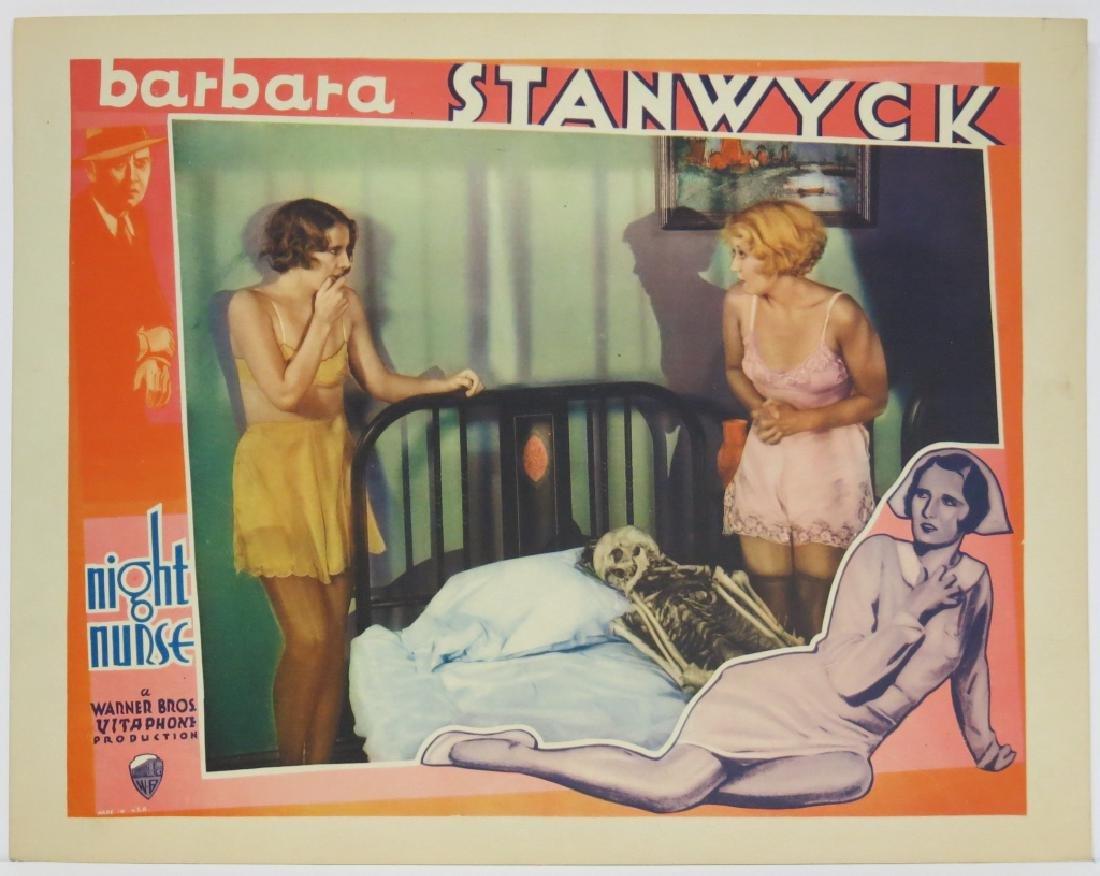 THE NIGHT NURSE LOBBY CARD SET WARNER BROS 1931 - 4