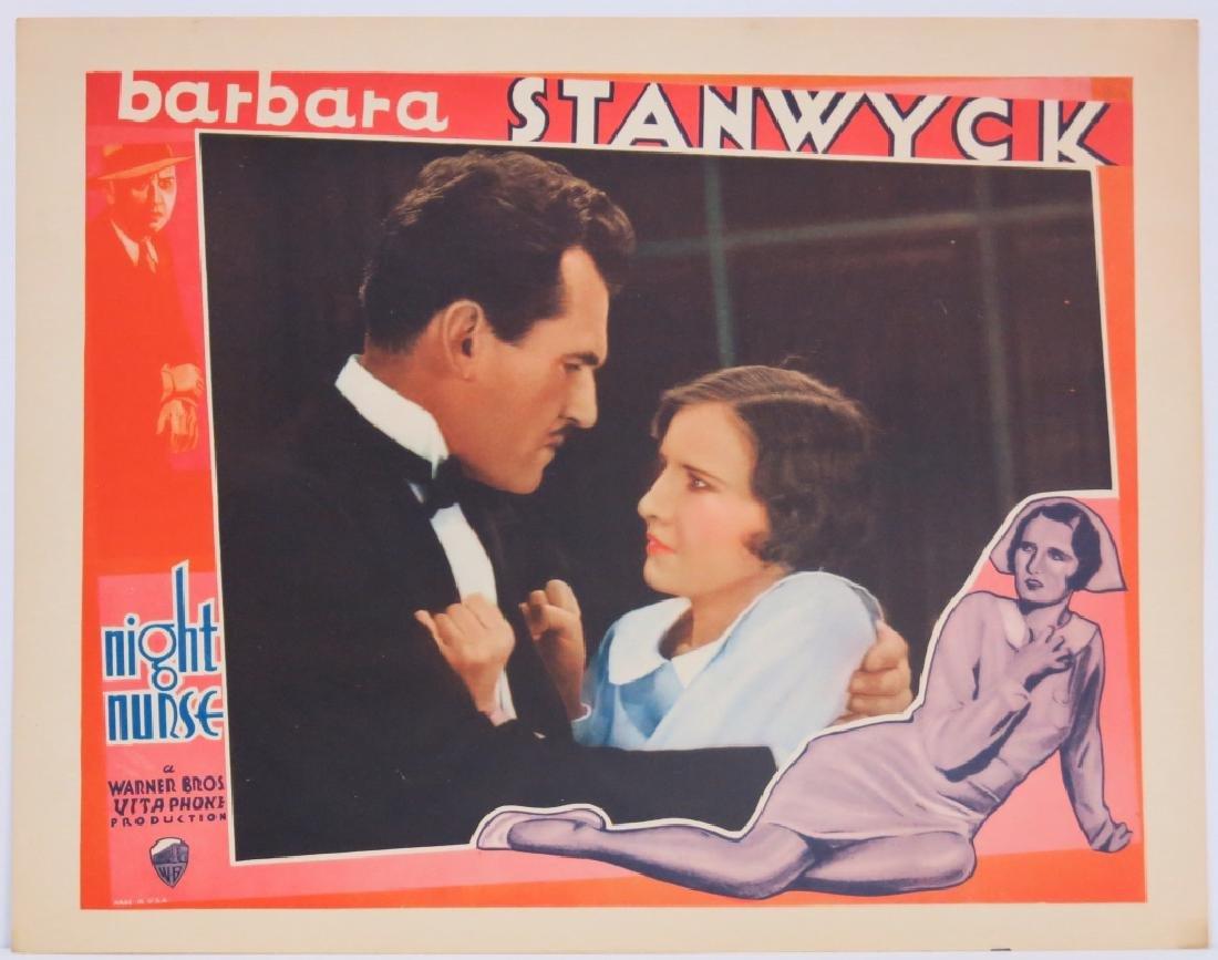 THE NIGHT NURSE LOBBY CARD SET WARNER BROS 1931 - 5