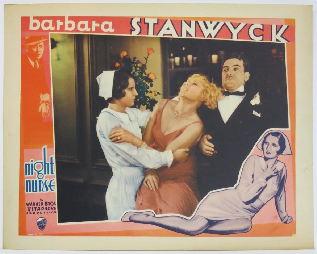 THE NIGHT NURSE LOBBY CARD SET WARNER BROS 1931 - 6